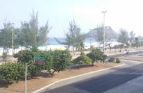 Apartamento andar inteiro com 4 Suítes e 4 Vagas na Praia do Recreio - Apartamento Frente Mar com 4 Suítes e 4 vagas para vender na Avenida Lúcio Costa, Recreio dos Bandeirantes, Rio de Janeiro - RJ