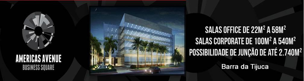 Americas Avenue Business Square - Americas Avenue - Lojas e Salas Comerciais na Barra da Tijuca