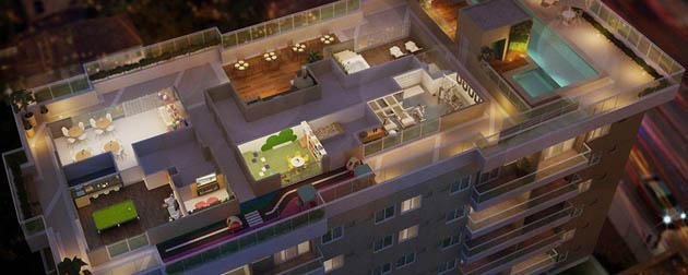 Boa Hora Imobiliária | Apartamentos 2 e 3 Quartos à venda no Campinho, Rua Cândido Benício em frente ao BRT, Zona Oeste, Rio de Janeiro - RJ