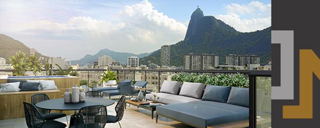 ON Botafogo - Apartamentos de 2 e 3 quartos em Botafogo, R. Voluntários da Pátria 110, ao lado do Metrô e a poucos metros da praia.  Condomínio completo com muito lazer, a 600m do Praia Shopping.
