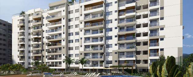 RIO TOWERS | Apartamentos 3 e 2 quartos a venda no Recreio dos Bandeirantes, Avenida Tim Maia. Rio de Janeiro - RJ.