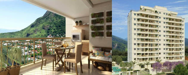 Thai Condominium Club - Apartamentos 3 e 2 quartos no Recreio dos Bandeirantes, Avenida Teotonio Vilela, Barra Bonita, Rio de Janeiro - RJ.