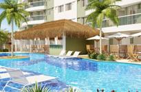 Acquapark - Apartamentos de 2 e 3 quartos no Pechincha, Jacarepaguá, com varanda gourmet. Coberturas dúplex de 2,3 e 4 quartos com varanda, piscina, churrasqueira e sauna. Todas as unidades com suíte.. Pechincha