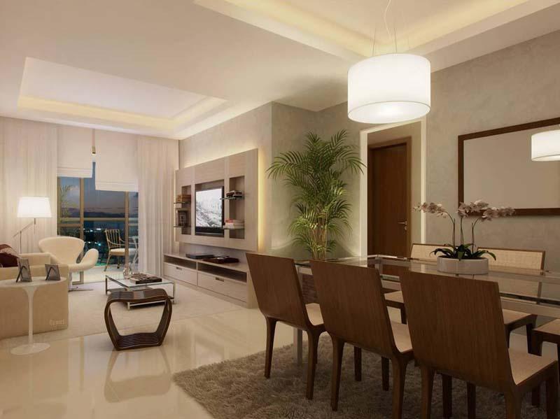 Apartamento 3 quartos com armários e cozinha planejada na Freguesia ~ Sala De Estar Clin