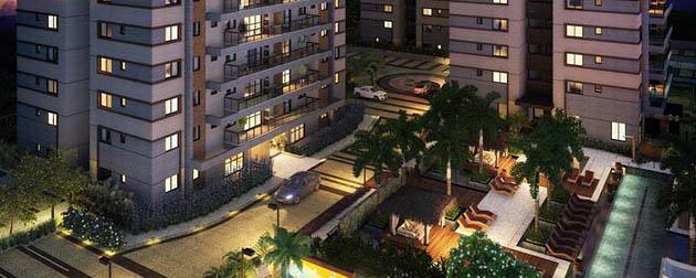 DAMAI Recreio Residences e Lifestyle - Apartamentos 4 quartos a venda no Recreio dos bandeirantes, unidades com duas vagas de garagem na Avenida Tim Maia. Rio de Janeiro - RJ.