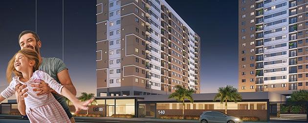 Boa Hora Imobiliária | Lançamento residencial da Construtora Tegra na Rua José Bonifácio (antiga Univercidade). Cadastre-se! São Apartamentos 2 e 3 quartos localizados no Méier, Rio de Janeiro - RJ