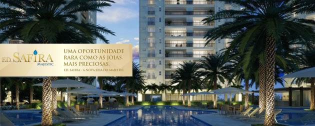 Ed. Safira Majestic - Cidade Jardim - Apartamentos 4 suítes e coberturas magníficas no Cidade Jardim, Av. Vice Presidente José de Alencar - Barra da Tijuca, Rio de Janeiro - RJ