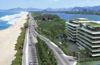 Grand Hyatt Barra - Residencial com Serviços à venda na Praia da Barra da Tijuca. Apartamentos 2 Quartos, exclusivas 96 unidades na Av Lúcio Costa..
