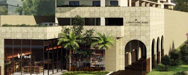 Largo dos Palácios Residencial - Apartamentos 4, 3 e 2 Quartos com dependência completa à venda em Botafogo, Rua São Clemente, Rio de Janeiro - RJ.
