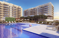 Ocean Pontal - Apartamentos 3 e 2 Quartos à venda no Pontal Oceânico próximo a Estrada do Pontal e a Avenida das Américas, Recreio dos Bandeirantes, Rio de Janeiro. Rjz Cyrela