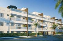 Palms Recreio Style Residences - Apartamentos 4, 3 e 2 Quartos à venda no Recreio dos Bandeirantes, 9 blocos com 3 pavimentos contendo unidades garden e coberturas 4 e 3 quartos, Rio de Janeiro - RJ