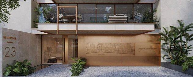 Redentor Ipanema - Empreendimento Exclusivo entre a Praia e a Lagoa Rodrigo de Freitas, apartamentos 3 ou 4 quartos sendo 3 suítes a venda em Ipanema.