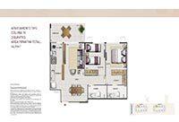 Planta Reserva do Conde Residencial Clube 11