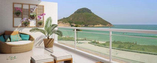 Reserva do Pontal Life Style - Apartamentos de 2 quartos e coberturas de até de 3 quartos com belíssima vista do mar à venda no Recreio dos Bandeirantes, Rio de Janeiro - RJ.