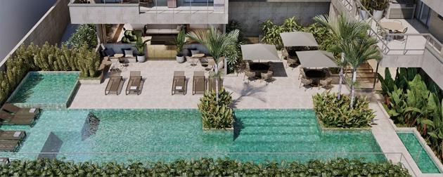Residencial Payssandu - Apartamentos de 2 e 3 quartos e coberturas de 3 e 4 quartos a venda na na Rua Paissandu, Flamengo, Zona Sul - RJ.