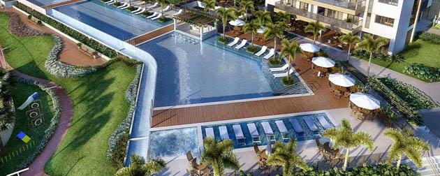 Saint Michel Ilha Pura - Apartamentos 4 e 3 Quartos à venda na Vila Olímpica e Paraolímpica do Rio de Janeiro, Ilha Pura, Barra da Tijuca - RJ