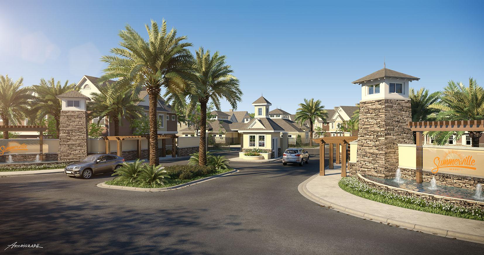 Summerville  Casas 5 4 e 3 Quartos em Kissimmee  FL