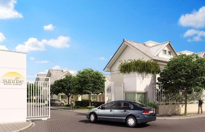 Sunrise House Garden - Sunrise House Garden - Casas em Condomínio Fechado com Total segurança e Lazer Completo