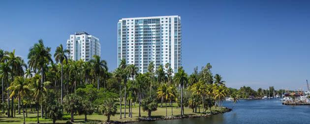 Terrazas River Park Village - Luxuosos Apartamentos 3, 2 e 1 Quartos All Suítes à venda em Miami na Flórida - USA.