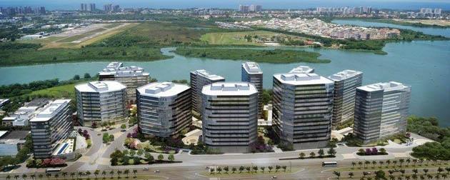 Boa Hora Imobiliária | Lojas, salas comerciais, Espaços Corporativos e Hotel à Venda na Barra da Tijuca, Avenida Abelardo Bueno, Rio de Janeiro - RJ