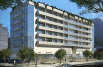 Salas Comerciais à Venda no Jardim Botânico, Rua Jardim Botânico, em frente ao Hospital Federal da Lagoa - Zona Sul do Rio de Janeiro. Construtora João Fortes.