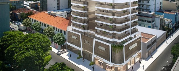 RIO TOWERS | Apartamentos 3 quartos com dependência, vaga e lazer completo a venda em Botafogo, Zona Sul - RJ.