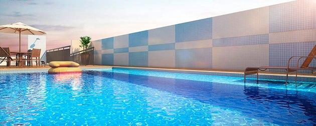 RIO TOWERS | Exclusividade em um único bloco na Tijuca, Zona Norte - RJ. Apartamentos 2 quartos com suíte, varanda e lazer completo ao ar livre na cobertura.