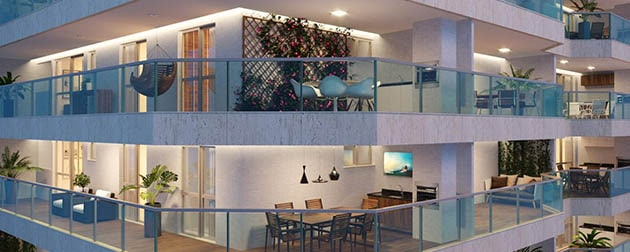 Boa Hora Imobiliária | Apartamentos e Garden de 2 quartos e Coberturas com 3 Quartos em frente ao Tijuca Tênis Clube na Rua Conde de Itaguaí.