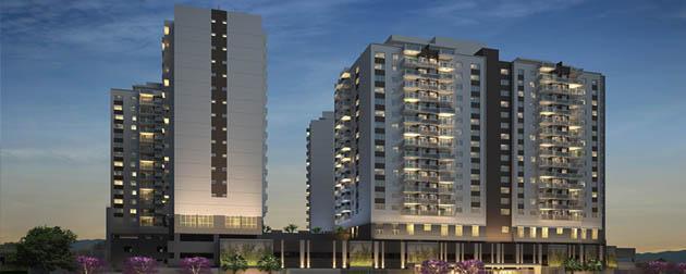 Up Norte Residencial - Apartamentos de 3 e 2 quartos com suíte, lazer e segurança no Cachambi, Rua Piauí, Zona Norte - RJ.