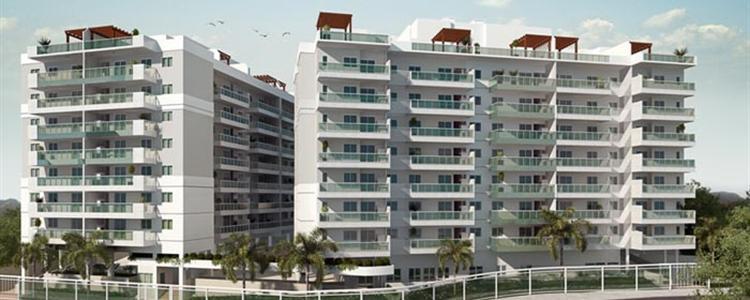 Village Vert - Village Vert Freguesia - Apartamentos 2, 3 e 4 na Estrada do Bananal, Freguesia - Fmac Engenharia.