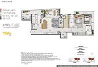 VOLP 40 | Apartamentos de 4 e 3 quartos próximo a praia e ao lado do metrô, na Rua Voluntários da Pátria 40.