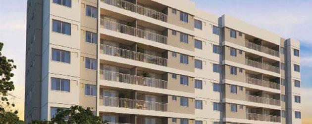 Wind Residencial - Apartamentos 3 e 2 Quartos com Suíte e Suíte Duo à venda na Estrada dos Bandeirantes. Incorporadora Odebrecht Realizações Imobiliárias