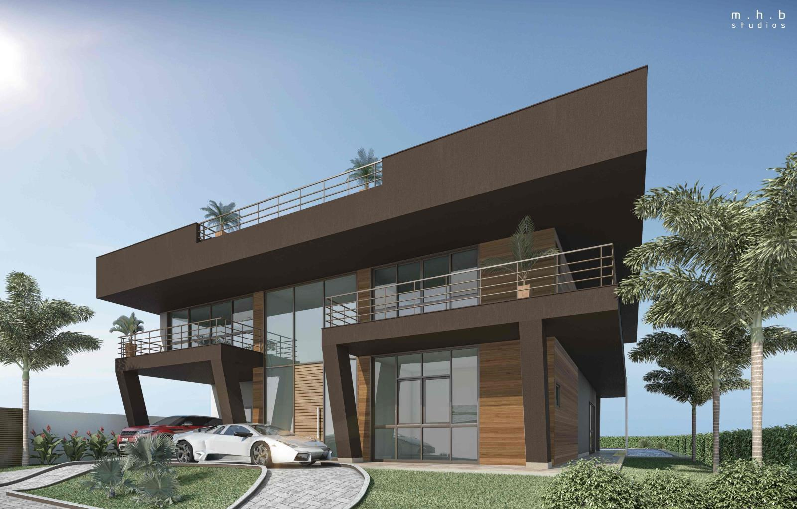 Casa 2 Alphaville Barra Fachdada