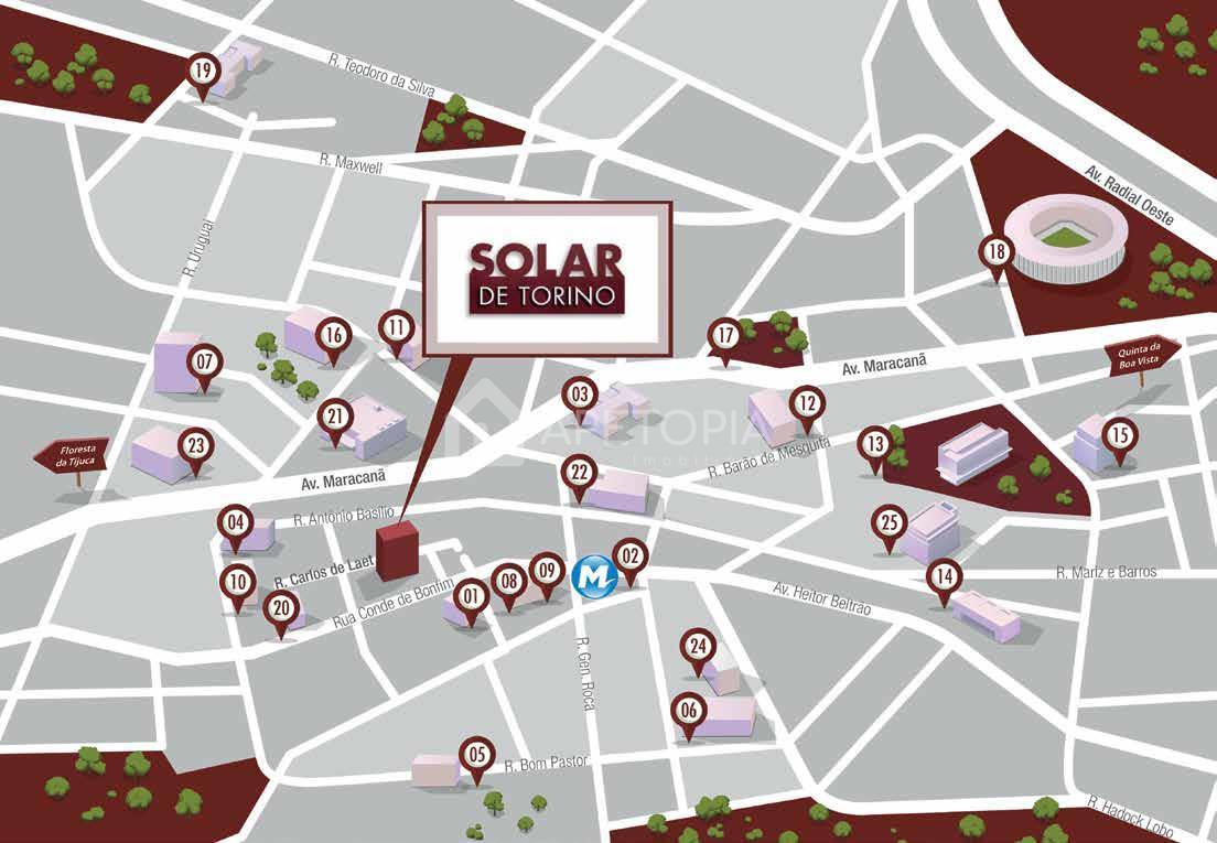 Solar de Torino Localizacao no Maps