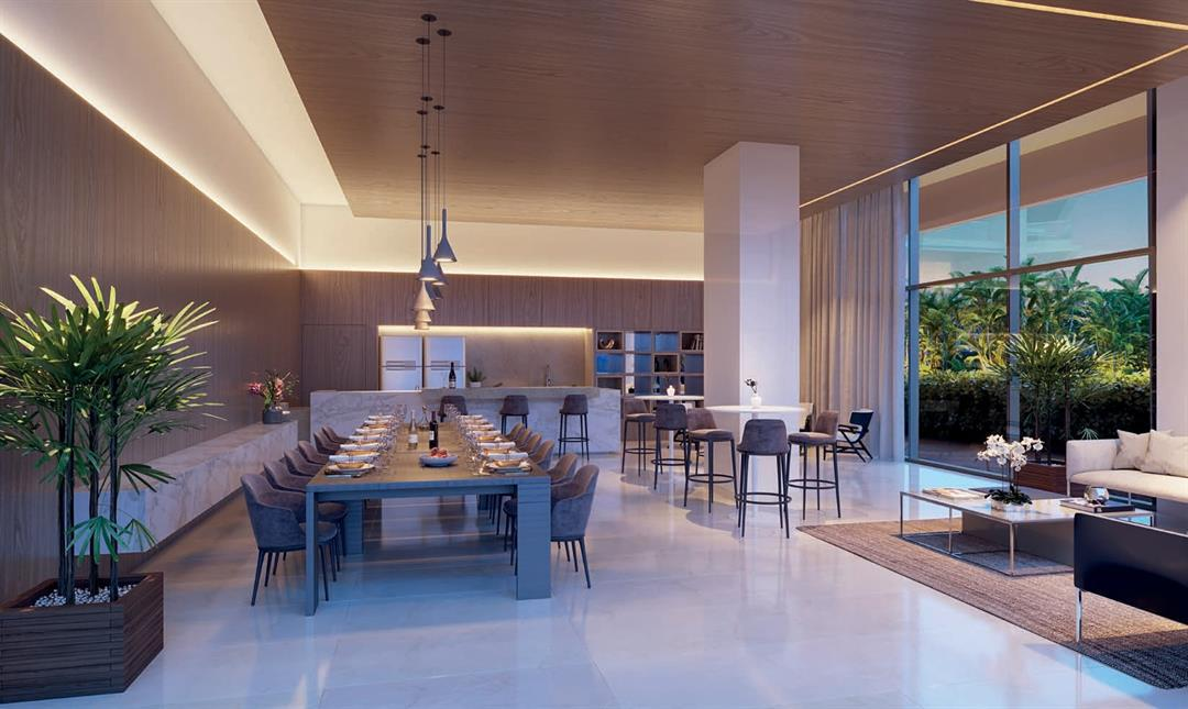 Cyano Exclusive Residences Sala de Jantar